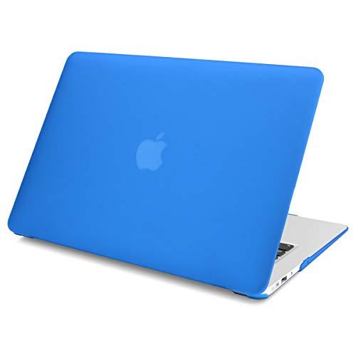 Batianda für MacBook Pro Retina 13 Zoll Hülle 2012-2015 Freisetzung,Slim Plastik Schale Cover Case Mat-Fall Schutzhülle für Alt MacBook Pro 13.3 Retina A1502 A1425,Tiefblau