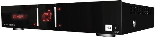 Volksbox Essential Digitaler Satelliten-Receiver (HD+, Kartenleser, HDMI, USB 2.0, inkl. HD+ Karte für 1 Jahr)