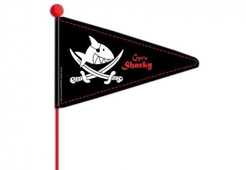 "Fahrradwimpel \""Captïn Sharky\"" L 175 cm"
