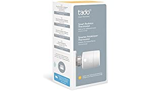 Tado SRT01H-TC-ML-03 Termostato Intelligente, Bianco