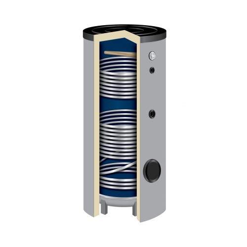 400 Liter Solarspeicher Warmwasserspeicher SO-400 Liter Isoliert 50 mm