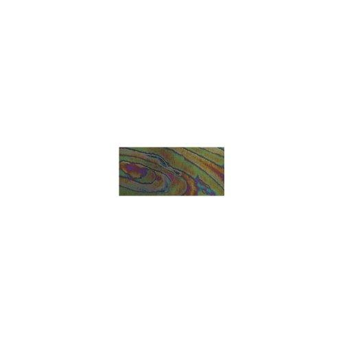 RAYHER - Wachsfolie Moire, 20x10 cm, SB-Btl. 1 Stück, d.grün
