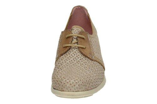 NOELIA , Chaussures bateau pour femme Beige