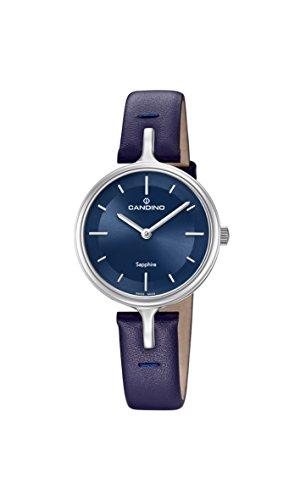 Candino Reloj Análogo clásico para Mujer de Cuarzo con Correa en Cuero C4648/2