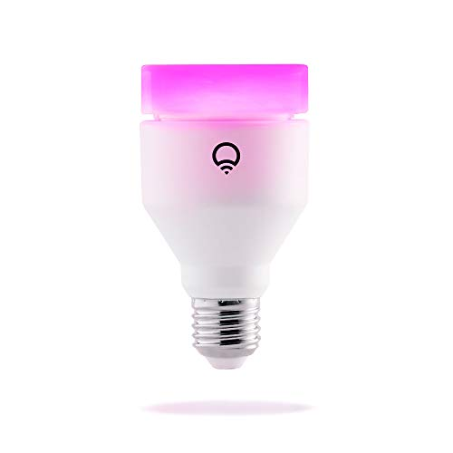 LIFX (E27) Lampadina a LED Wi-Fi Smart, regolabile, multicolor, dimmerabile, non richiede un hub, funziona con Alexa, Apple HomeKit e...