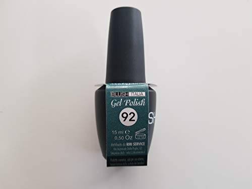 Gel Polish 15 ml semipermanenti Blush Italie 96 couleurs ultra coprenza maximale durée (92 – Madagascar)