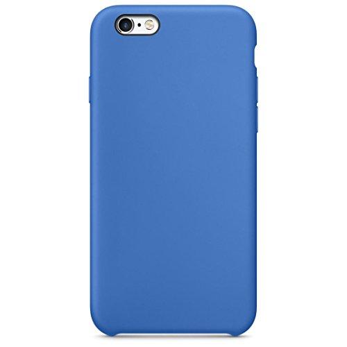 aobiny Handy Schutzhülle Luxus Fashion Ultradünne Silikon Hülle Skin für iPhone 6S/611,9cm, Blau