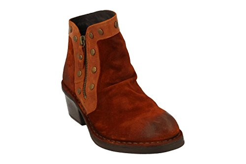 Fly London Duke941fly, Stivali da Cowboy Donna Marrone (Brick/brick)