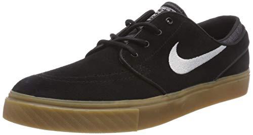 4b8034f117 Nike Zoom Stefan Janoski, Zapatillas de Skateboarding para Hombre, Negro ( Black/White