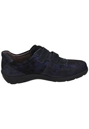 Comfortabel Damen Halbschuhe blau, 941963-5 blau