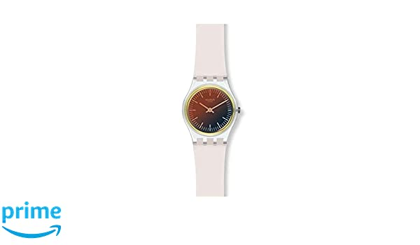 Uhr Lk391 Mit Damen Quarz Analog Silikon Swatch Armband m0yvnw8ON
