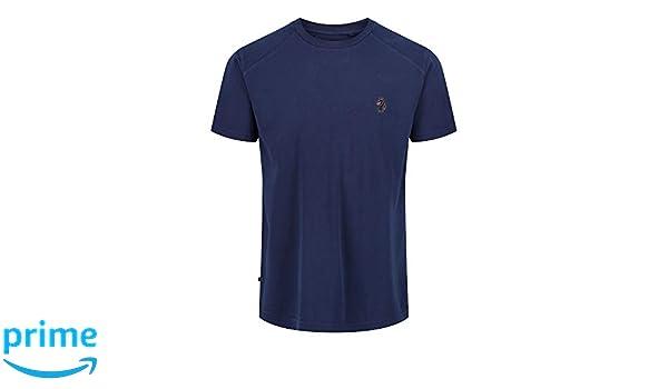 Luke 1977 Mako dyed crew neck t-shirt-Navy