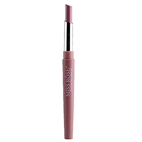 ESAILQ Neue Double-End Multifunktions Dauerhafte Lipliner Wasserdicht Lip Liner Stick Bleistift 8 Farbe Lippenstift Lipgloss (F)