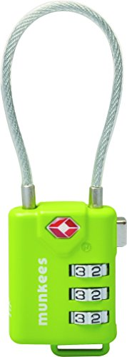 Munkees Tsa Cable Combo Lock 3609 by MUNKEES
