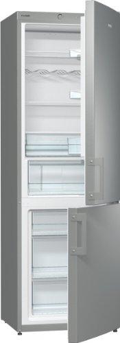 Gorenje RK 6193 EX Kühl-Gefrier-Kombination / A+++ / Höhe 185 cm / Kühlen: 229 L / Gefrieren: 95 L / FrostLess / CrispZone / Anti Fingerprint