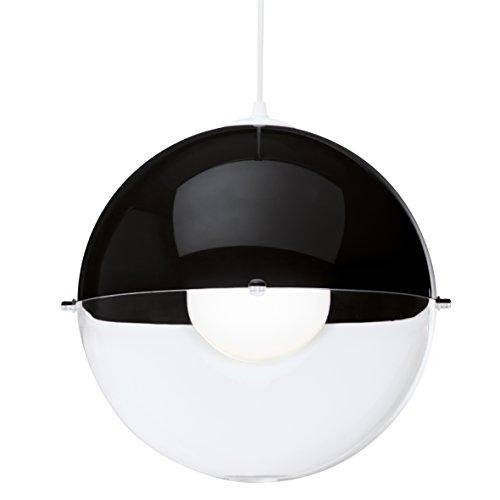 koziol-1911115-orion-suspension-e27-thermoplastique-noir-et-transparent-clair