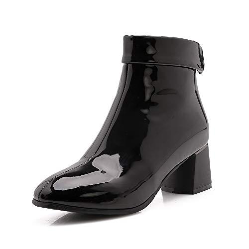 sneakers for cheap ce782 1ab92 ✓ Lackstiefeletten Schwarz Vergleich - Schuhe für Jede ...