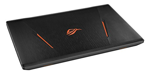 ASUS ROG GL753VD GC041T 439 cm 173 Zoll mattes FHD Gaming Notebook Intel core i7 7700HQ 8GB RAM 128GB SSD 1TB HDD NVIDIA GeForce GTX 1050 DVD Laufwerk Win 10 property schwarz Notebooks