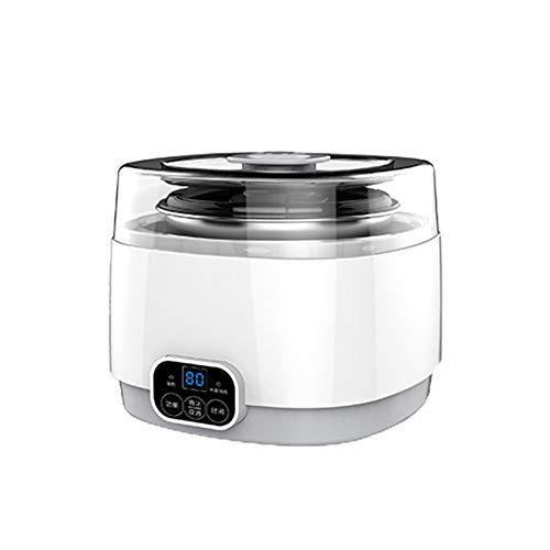 DYR Joghurtbereiter Joghurtbereiter Haushalt Intelligente Ausschaltung Mini Hausgemachte Split Cup Natto Reiswein Fermentation Machine (Color: 1L)