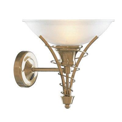 Linea Antique Brass Finish Wall Light, 5227AB
