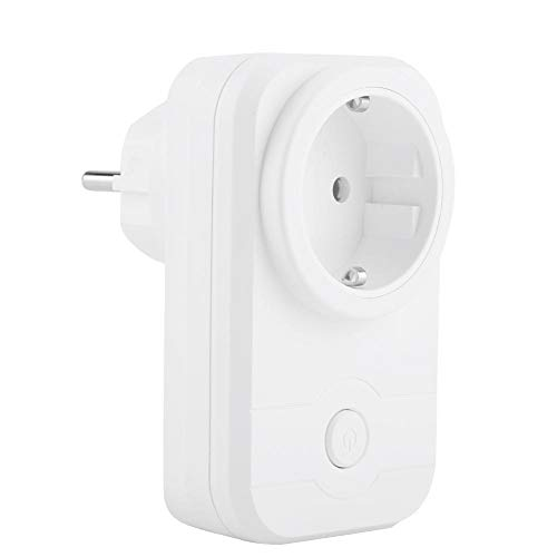 ASHATA Enchufe Inteligente Conector Wifi Zócalo del Interruptor Smart Socket para Encender/Apagar...