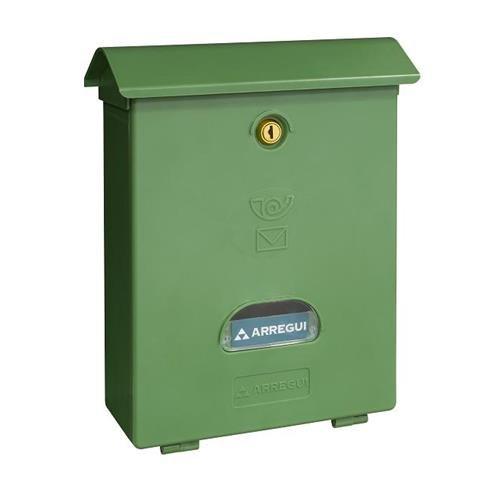 ARREGUI E1073–Classic Briefkasten aus Kunststoff grün
