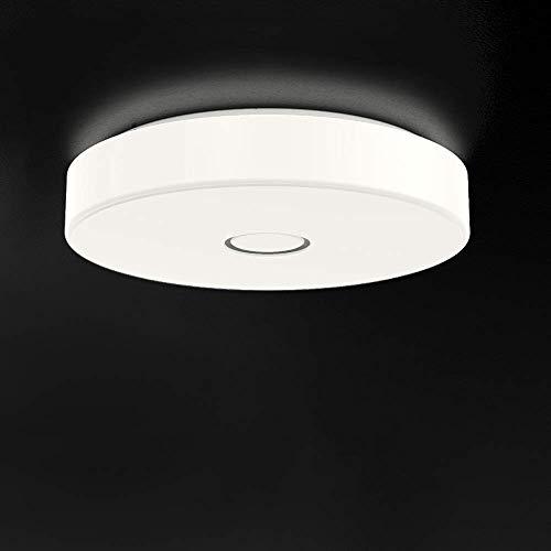 Onforu 18W LED Deckenleuchte 1600lm, 5000K Kaltweiß LED Deckenlampe Ø28cm, IP65 Wasserdicht, Ersetzt 180W Glühbirne, Modern Innen- und Außenleuchte für Wohnzimmer, Küche, Badezimmer, Balkon etc.