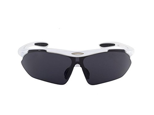 Gafas de Sol de Ciclismo, Tukistore Polarized Sports Gafas de Sol para Hombres Motocicletas Ciclismo Baseball Corriendo Pesca Conducción Golf Excursionismo Carreras Gafas de esquí Gafas