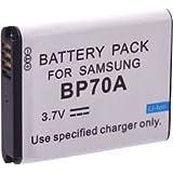 Batterie rechargeable au lithium-ion pour appareil photo / caméscope type / réf: Samsung BP 70A/ BP70A/ SLB 70A / SLB70A