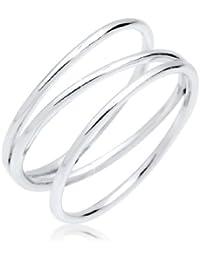 Elli Damen Ring  925 Sterling Silber