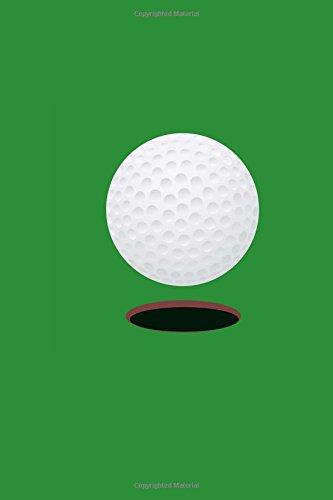 Golf Ball Blank Paperback Journal 6 x 9