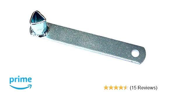 Dreikantschlüssel Niethaken Feuerwehrschlüssel DIN 22417 19mm
