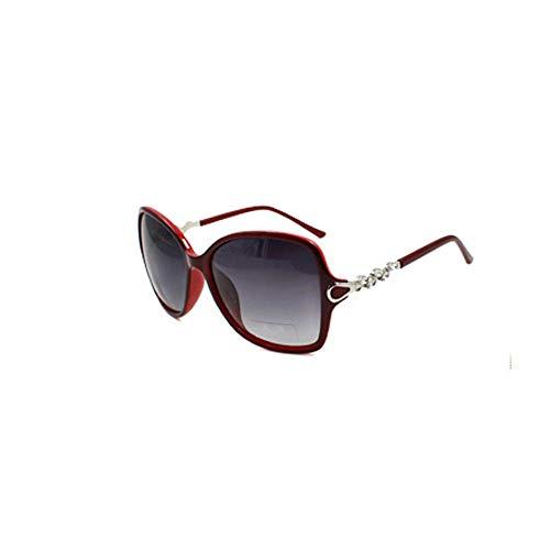 Die täglichen Erfordernisse Sonnenbrille weiblich 2019 Gezeiten große Box Brille Fahren Polarisator rundes Gesicht rot Elegantes Gesicht langes Gesicht Anti-Licht Sonnencreme