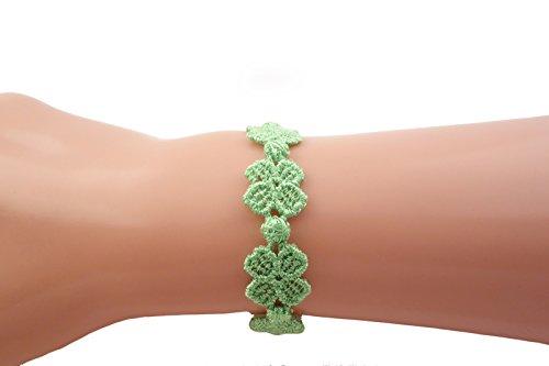 original-cruciani-armband-kleeblatt-fluor-grun-versandkostenfrei-nach-brd