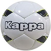 Kappa Academio Player Pallone da Calcio, Unisex Bambino, 303ZPU0, Bianco/Blu/Giallo, T05