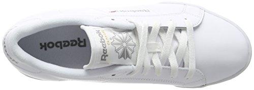 Reebok Npc Ii Ne, Baskets Basses Femme Blanc (White/Flat Grey)