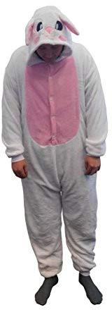 Kind Kostüm Drachen Lady - GW Handels UG Flannel Kostüm Hase Damen Herren Kinder Karnevalskostüm Faschingskostüm Verkleidung Fleece Overall Erwachsene Größe XL