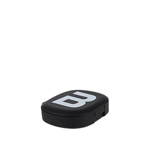 BioTech USA Tablettenbox Pillendose 5 Fächer Pillenbox Schwarz