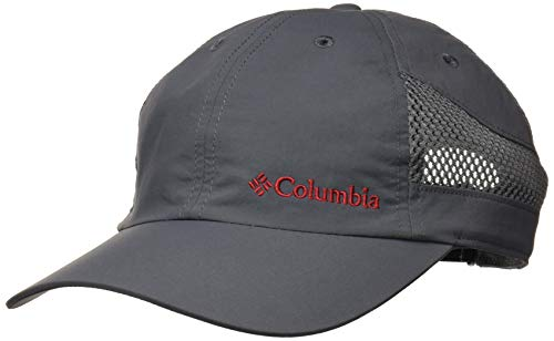 Imagen de columbia tech shade hat   unisex, nailon, gris graphite talla o/s, 1539331