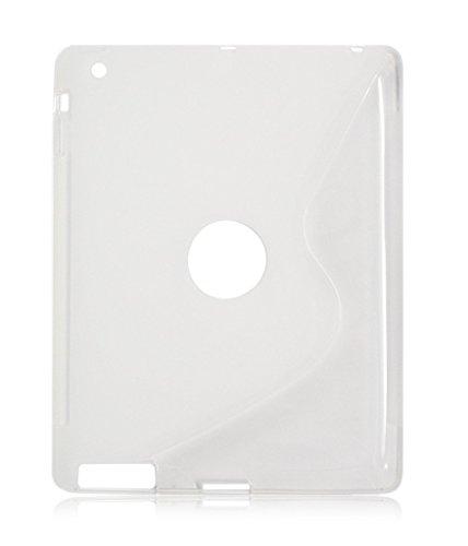 TPU Silikon Gel Skin Clear Schutzhülle S-Line Sline für Apple iPad Mini 4