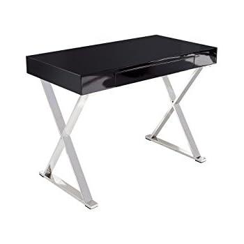 Dunord design schreibtisch b rotisch laptoptisch massai for Schreibtisch hochglanz schwarz