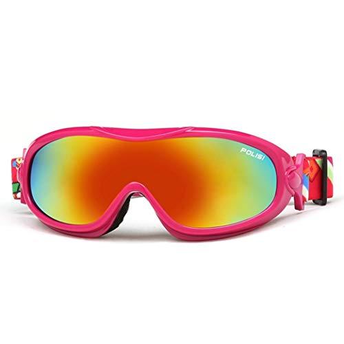 HSENA Motorrad Herrenbrille Unisex Anti-Fog UV-Schutz Winddicht Sanddicht Brille Offroad Wandern Snowboard Segelflug Brillen