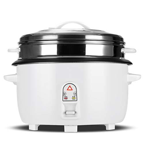 Cuiseur à riz Cuiseur de riz de 10L 220V multifonctionnel Commercial Marine Marine cuiseur de riz de grande capacité, commande à un bouton et fonction de maintien automatique au chaud-pour restauratio