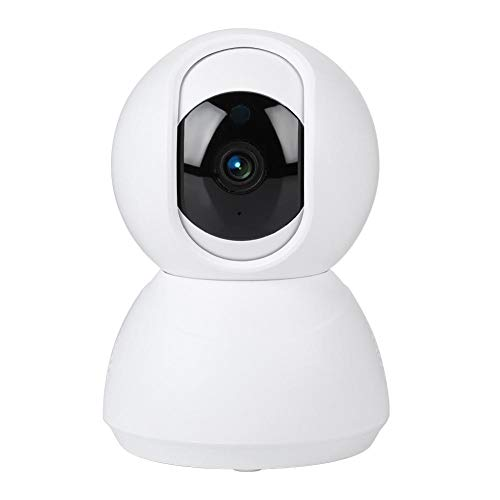 Babyphone mit HD 720P Kamera, kabelloser Audiomonitor mit Nachtsicht und bidirektionaler Spracherkennung Bewegungserkennung für Baby/Holunder/Haustier 3 Modi (weiße Dome Kamera)(EU) Digital Security Controls