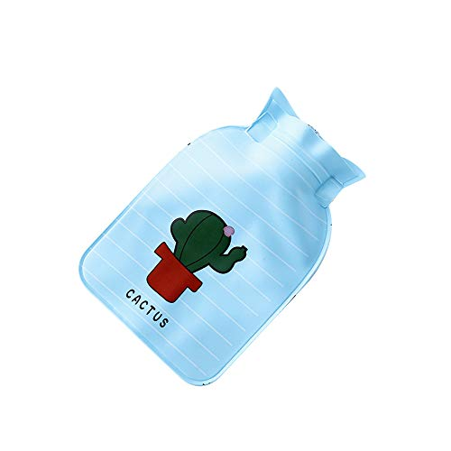 8868c254d7f4 Mini Hot Water Bottle with Cover Natural Rubber Cute Reusable Mini Hot  Water Bag for Pain