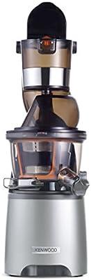 Kenwood Pure Juice Pro - JMP800SI - Extractor de zumos extra-saludables (entrada dual, uso silencioso, con función de aclarado y tapón anti-goteo)