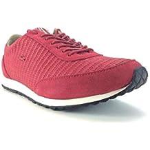 Lacoste - Zapatillas de Deporte para Hombre Rojo Rojo