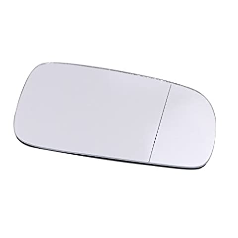 WANOOS Wing Door Mirror Rearview Mirror Wide Angle Glass Right Side For 1999-2004 VW Golf Bora Jetta MK4 Passat