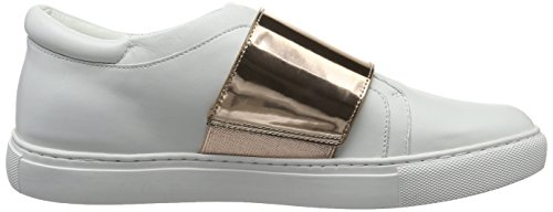 Kenneth Cole Damen Konner Sneakers Weiß (White/rose gold 198)