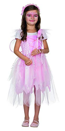 Hexe Kostüm Fee Mädchen - Rubie's Rubies Kostüm Fee Luna rosa Kleid Mädchen Kinder Fasching/Karneval - 116